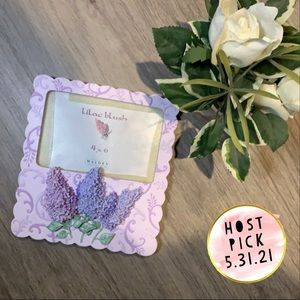 Lilac Picture Frame - Hand Painted & Textured